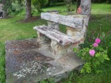 Banco del jardin